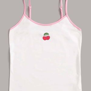 Tops - cherry tank top ;)